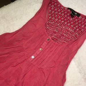 Forever 21 Pink Peplum top